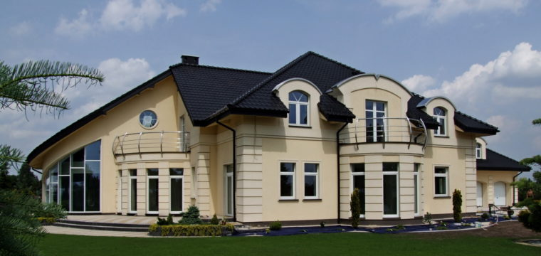 Galeria: Dom zokrągłym wykuszem