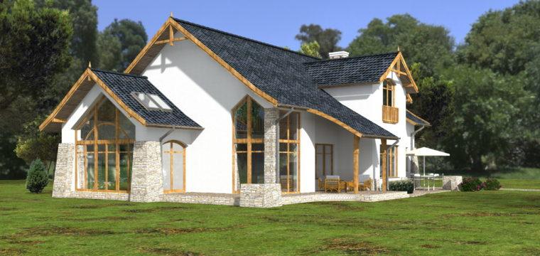 Galeria: Dom wokolicach Krakowa