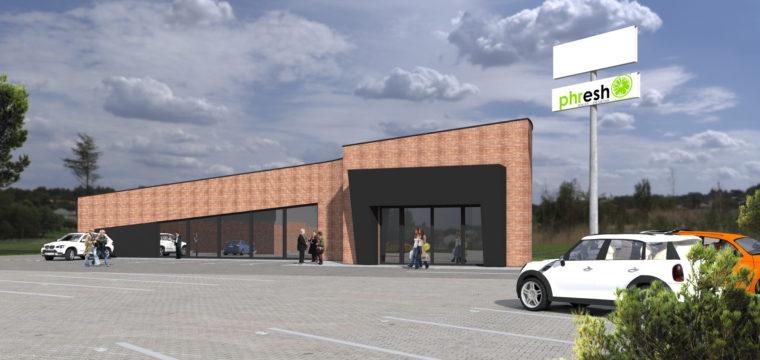 Galeria: budynek handlowy