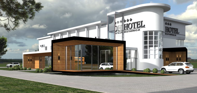 Galeria: Rozbudowa hotelu