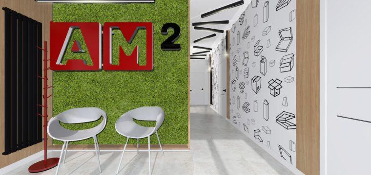 Galeria: Wnętrza budynku biurowego AM2