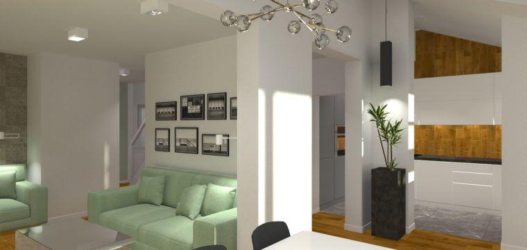 Galeria: Wnętrza domu mieszkalnego wLondynie