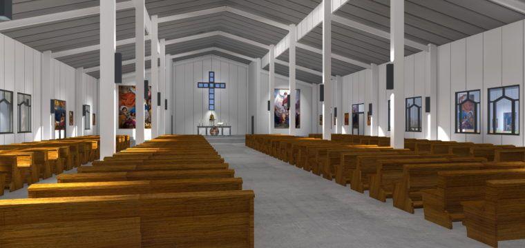 Galeria: Kościół wGwinei